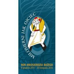 Dostępne w pięciu wzorach: Banery na Rok Miłosierdzia Bożego
