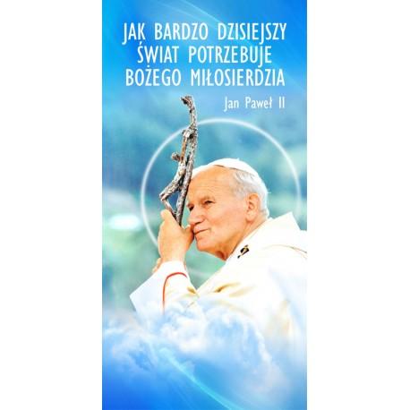 Baner na Rok Miłosierdzia Bożego (Jan Paweł II)