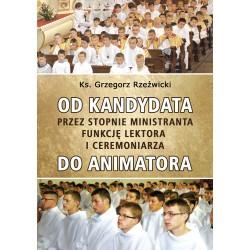 OD KANDYDATA PRZEZ STOPNIE MINISTRANTA, FUNKCJĘ LEKTORA I CEREMONIARZA DO ANIMATORA
