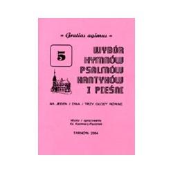 Wybór hymnów, psalmów, kantyków i pieśni. Zeszyt 5. Gratias agimus