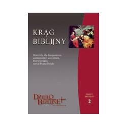 KRĄG BIBLIJNY Zeszyt spotkań 2. Materiały dla duszpasterzy, animatorów i wszystkich, którzy pragną czytać Pismo Święte.