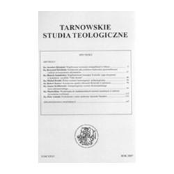 TARNOWSKIE STUDIA TEOLOGICZNE XXVI