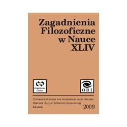 Zagadnienia Filozoficzne w Nauce nr XLIV