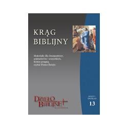KRĄG BIBLIJNY Zeszyt spotkań 13. Materiały dla duszpasterzy, animatorów i wszystkich, którzy pragną czytać Pismo Święte.