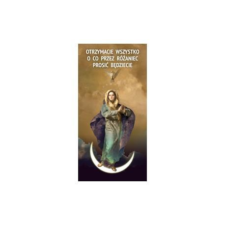 BANER DEKORACYJNY Nabożeństwa różańcowe Wzór 1 Pozostałe wzory (wysyłka gratis)