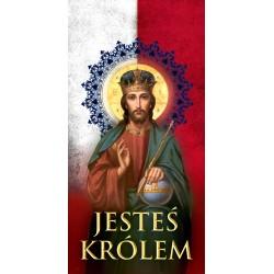 BANER DEKORACYJNY na Niedzielę Chrystusa Króla