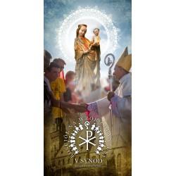 BANER DEKORACYJNY na V Synod Diecezji Tarnowskiej. Wzór 02