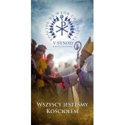 BANER DEKORACYJNY na V Synod Diecezji Tarnowskiej. Wzór 04