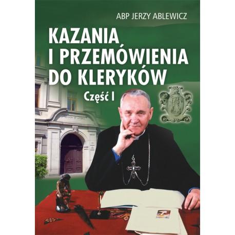 """ABP JERZY ABLEWICZ """"KAZANIA DO KLERYKÓW"""""""