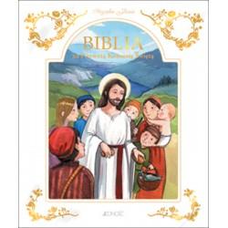Biblia na Pierwszą Komunię Świętą. Przyjąłem Jezusa (w etui)