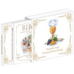Pamiątka mojej Pierwszej Komunii Świętej (komplet 2 książek w etui)