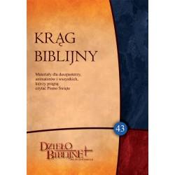 KRĄG BIBLIJNY. Zeszyt spotkań 43 (z płytą CD)