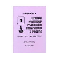 Wybór hymnów, psalmów, kantyków i pieśni. Zeszyt 4. Magnificat