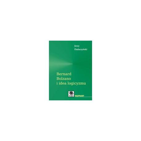 Bernard Bolzano i idea logicyzmu