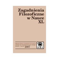 Zagadnienia Filozoficzne w Nauce nr XL
