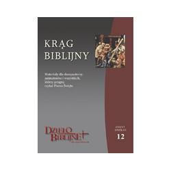 KRĄG BIBLIJNY Zeszyt spotkań 12. Materiały dla duszpasterzy, animatorów i wszystkich, którzy pragną czytać Pismo Święte.