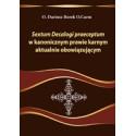 Sextum Decalogi praeceptum w kanonicznym prawie karnym aktualnie obowiązującym