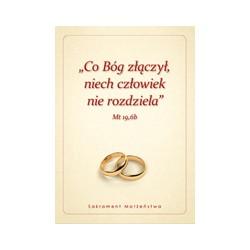 TECZKA NA DOKUMENTY SAKRAMENTU MAŁŻEŃSTWA Wzór 3 (10 szt.)
