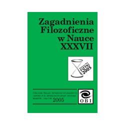 Zagadnienia filozoficzne w nauce. n. XXXVII