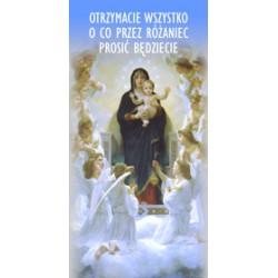BANER DEKORACYJNY Nabożeństwa różańcowe Wzór 3 (wysyłka gratis)